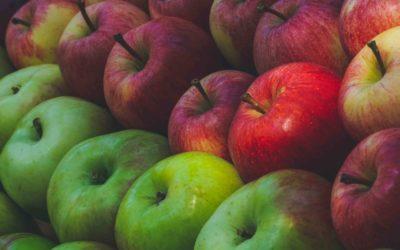 Les spécificités types de pommes